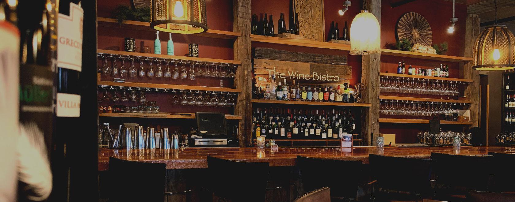 Wine Bistro bar