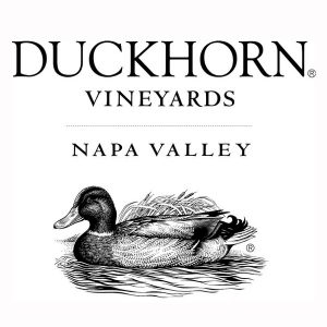 Duckhorn Vineyards Napa Valley logo with an image of a duck floating on water